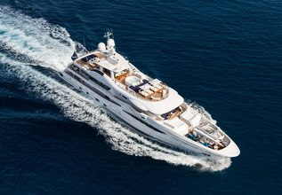 Halo Charter Yacht at Monaco Yacht Show 2018