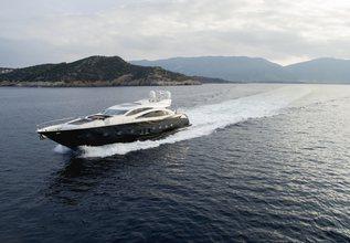 Blade 6 Charter Yacht at MYBA Charter Show 2014