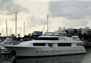 Elysian Charter Yacht at Fort Lauderdale Boat Show 2016