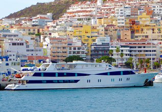 Harmony V Charter Yacht at East Med Yacht Show 2018