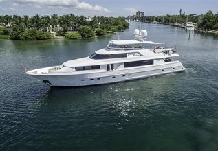 Something Southern Charter Yacht at Palm Beach Boat Show 2014