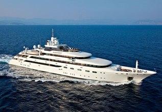O'Mega Charter Yacht at Monaco Grand Prix 2014