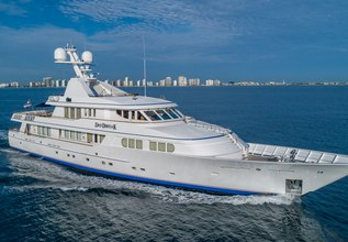 Daybreak Charter Yacht at Palm Beach Boat Show 2014
