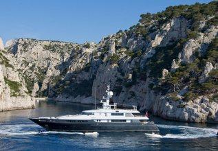 Mariu Charter Yacht at Monaco Grand Prix 2016