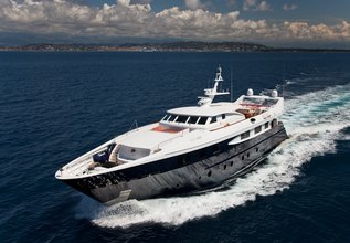 Sophie Blue Charter Yacht at MIPIM 2014