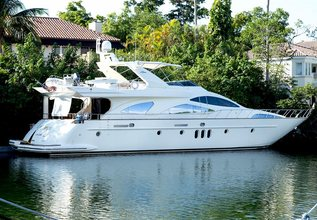 Azure Charter Yacht at Miami Yacht Show 2020