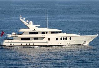 Rahal Charter Yacht at Monaco Grand Prix 2016