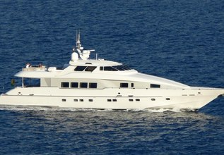 Sun Ark Charter Yacht at Fort Lauderdale Boat Show 2015