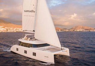 Samadhi Charter Yacht at Antigua Charter Yacht Show 2018