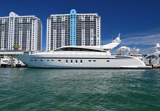 Veloce Charter Yacht at Miami Yacht Show 2020