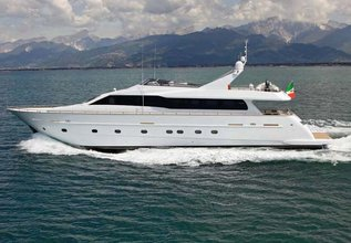 Gioe I Charter Yacht at Mediterranean Yacht Show 2016