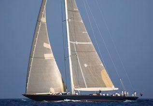 Velsheda Charter Yacht at America's Cup Superyacht Regatta 2017