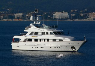 Desamis B Charter Yacht at MYBA Charter Show 2013