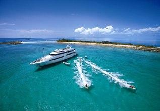Bad Girl Charter Yacht at Antigua Charter Yacht Show 2014