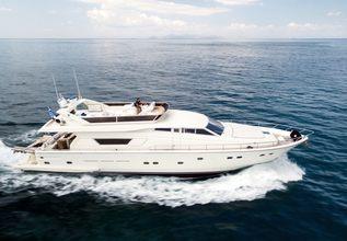 Vento Charter Yacht at Mediterranean Yacht Show 2018