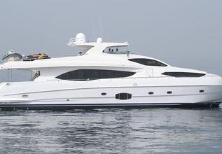 Infinity 7 Charter Yacht at Abu Dhabi Grand Prix Yacht Charter