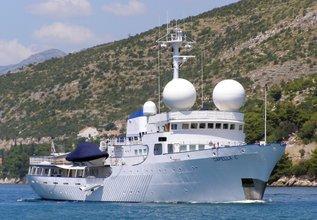 Capella C Charter Yacht at Monaco Grand Prix 2016