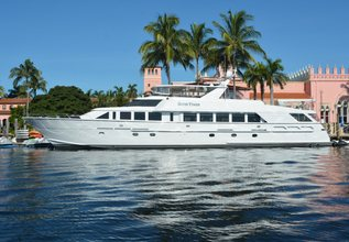 Escape Charter Yacht at Miami Yacht Show 2018
