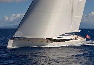Zefira Charter Yacht at Caribbean Superyacht Regatta 2013