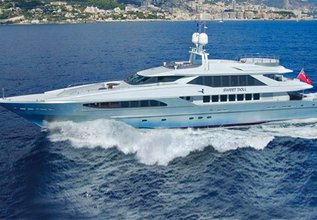 King Louis Charter Yacht at Antibes Yacht Show 2014