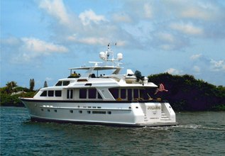 Escapist Charter Yacht at Yachts Miami Beach 2016