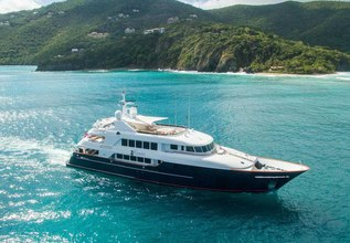 Bacchus Charter Yacht at Antigua Charter Yacht Show 2014