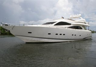 Orly Charter Yacht at Fort Lauderdale Boat Show 2015