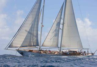 Gloria Charter Yacht at Newport Charter Show 2015