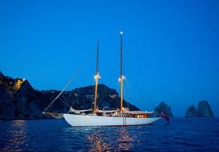 Orianda Charter Yacht at MIPIM 2014