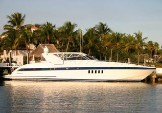 Hakuna Matata II Charter Yacht at Palm Beach Boat Show 2014