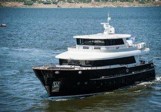 Destiny Charter Yacht at Monaco Grand Prix Yacht Charter