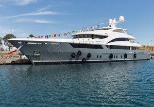 La Passion Charter Yacht at Monaco Yacht Show 2015
