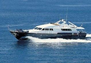 Oh Que Luna Charter Yacht at Mediterranean Yacht Show 2014