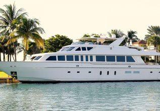 Beachfront Charter Yacht at Bahamas Charter Show 2020