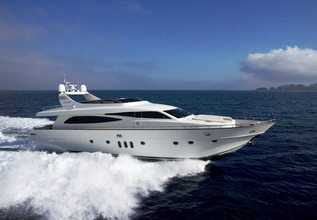 Anassa A Charter Yacht at East Med Yacht Show 2013
