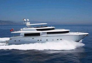 Illusion Charter Yacht at Miami Yacht Show 2020