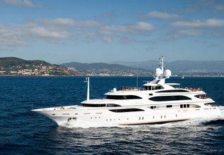 Idyllic Charter Yacht at Singapore Yacht Show 2013