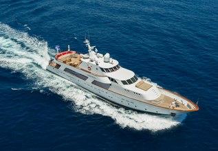 Parvati Charter Yacht at Mediterranean Yacht Show 2017