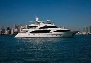 Mina Charter Yacht at Palm Beach Boat Show 2015