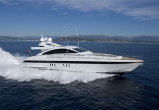 Mr. M Charter Yacht at Antibes Yacht Show 2013