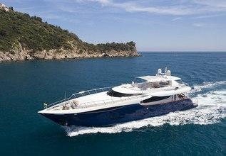 Clarity Charter Yacht at Monaco Grand Prix 2014