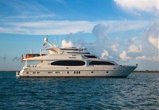 Lady Deena II Charter Yacht at Palm Beach Boat Show 2017