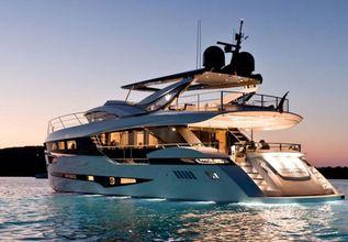 Cadet V Charter Yacht at Monaco Yacht Show 2018