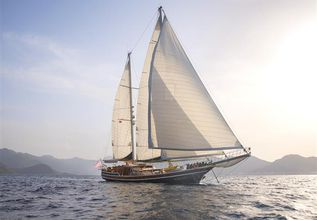 Grande Mare Charter Yacht at TYBA Yacht Charter Show 2018