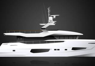 Lady Stefani Charter Yacht at Miami Yacht Show 2019