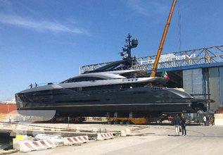 Flying Dagger Charter Yacht at Monaco Yacht Show 2018