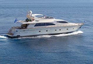Efmaria Charter Yacht at Mediterranean Yacht Show 2019
