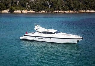 Delhia Charter Yacht at Monaco Grand Prix 2014