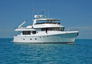 Moon Dancer Charter Yacht at Fort Lauderdale Boat Show 2015