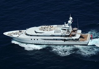 Lady A Charter Yacht at Monaco Yacht Show 2017